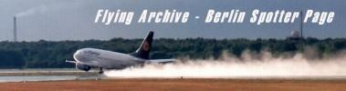 Flying Archive - Berlin Spotter Page